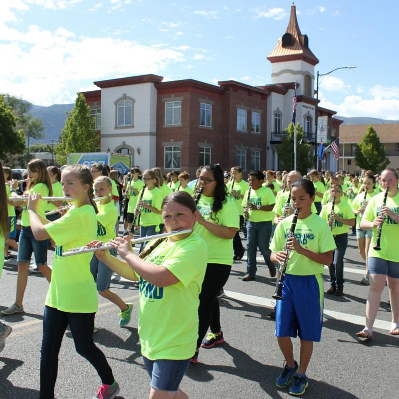Ephraim Middle School Marching Band